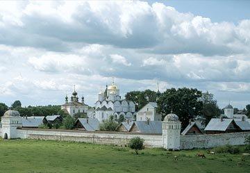 Porkrovsky Monastery, Суздаль