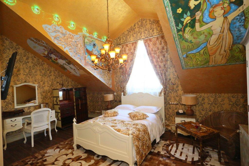 Отель Buen Retiro Hotel Улучшенные номера