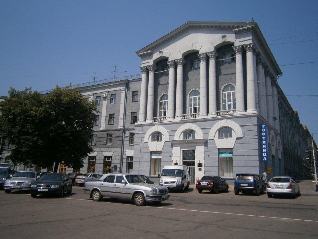 Гостиницы в городе курск