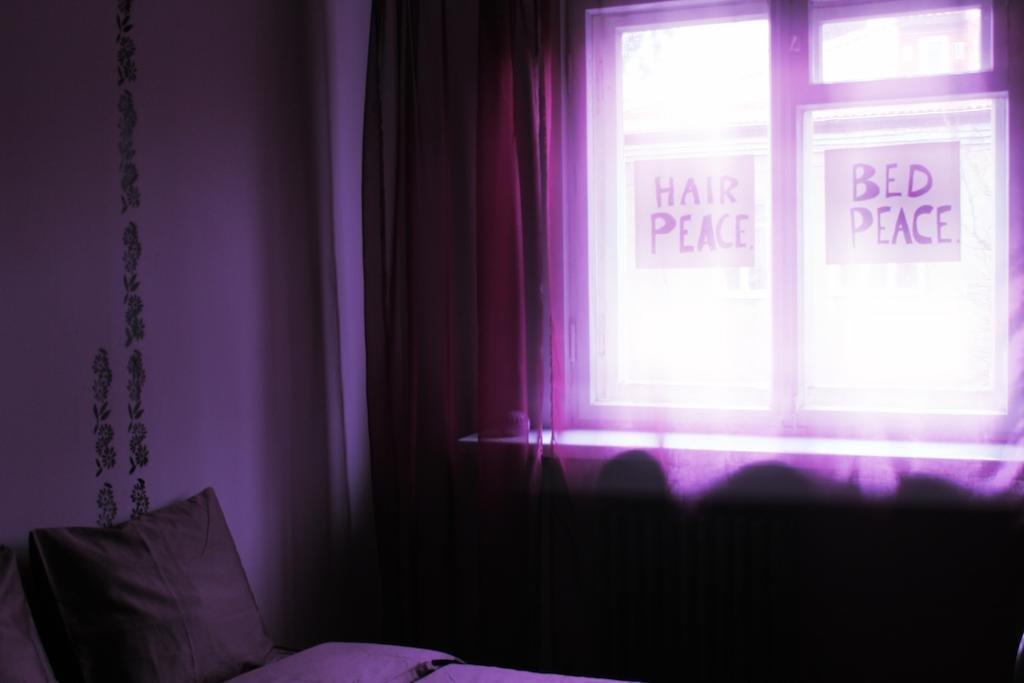 Хостел John Lennon Номера с общей ванной комнатой