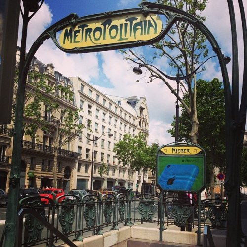 транспорта Парижа кажется