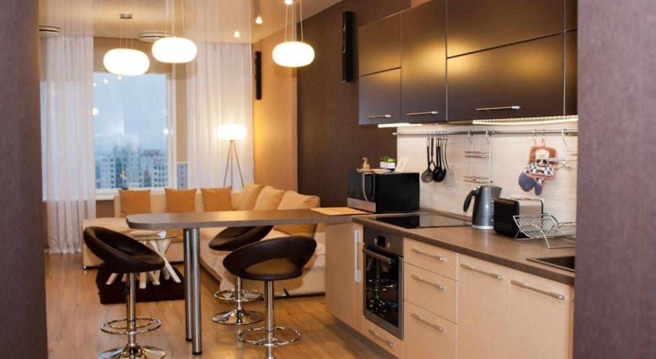 Кухня гостиная 12 кв м дизайн фото