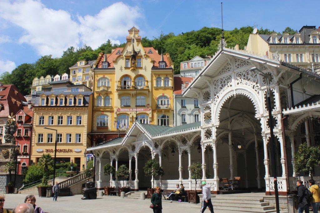 Отель Romance Puškin в Карловых Варах