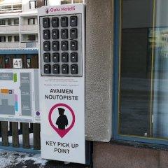 Апартаменты Oulu Hotelli Apartments Lite городской автобус