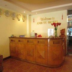 Отель Anh Tu Hotel Вьетнам, Хошимин - отзывы, цены и фото номеров - забронировать отель Anh Tu Hotel онлайн интерьер отеля фото 2