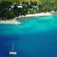 Отель Pension Justine Французская Полинезия, Тикехау - отзывы, цены и фото номеров - забронировать отель Pension Justine онлайн пляж