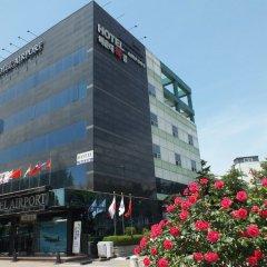 Отель Airport Gimpo Сеул вид на фасад