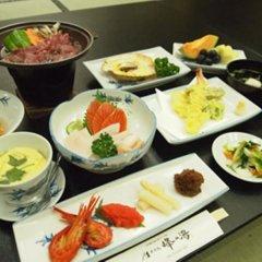 Отель Mine-no-yu Япония, Уторо - отзывы, цены и фото номеров - забронировать отель Mine-no-yu онлайн питание