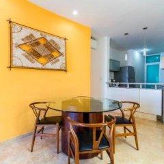 Отель La Papaya Plus 303 - LPP303 Мексика, Плая-дель-Кармен - отзывы, цены и фото номеров - забронировать отель La Papaya Plus 303 - LPP303 онлайн балкон