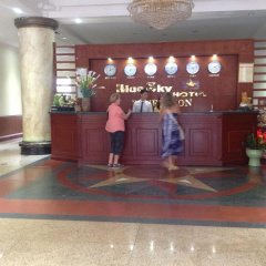 Отель Blue Sky Halong Hotel Вьетнам, Халонг - отзывы, цены и фото номеров - забронировать отель Blue Sky Halong Hotel онлайн интерьер отеля