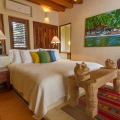 Отель Las Palmas Resort & Beach Club Мексика, Коакоюл - отзывы, цены и фото номеров - забронировать отель Las Palmas Resort & Beach Club онлайн комната для гостей фото 2