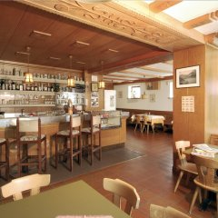 Hotel Restaurant Alpenrose Горнолыжный курорт Ортлер гостиничный бар