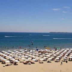 Отель Sunset Hotel Sunny Beach Болгария, Солнечный берег - отзывы, цены и фото номеров - забронировать отель Sunset Hotel Sunny Beach онлайн пляж