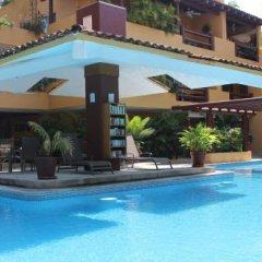 Отель Los Mangos Мексика, Сиуатанехо - отзывы, цены и фото номеров - забронировать отель Los Mangos онлайн бассейн фото 6