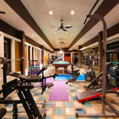 Отель Вилла Boutique Resort Private Pool фитнесс-зал фото 3