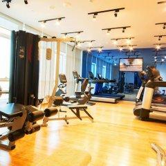 Отель The Act Hotel ОАЭ, Шарджа - 1 отзыв об отеле, цены и фото номеров - забронировать отель The Act Hotel онлайн фитнесс-зал фото 2