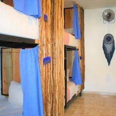 Отель Namastay Hostel Мексика, Плая-дель-Кармен - отзывы, цены и фото номеров - забронировать отель Namastay Hostel онлайн комната для гостей фото 4