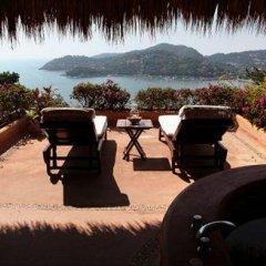 Отель Casa Cuitlateca Мексика, Сиуатанехо - отзывы, цены и фото номеров - забронировать отель Casa Cuitlateca онлайн бассейн фото 2