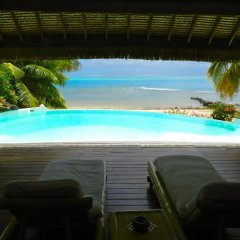 Отель Enjoy Villa Pool And Beach Французская Полинезия, Папеэте - отзывы, цены и фото номеров - забронировать отель Enjoy Villa Pool And Beach онлайн бассейн
