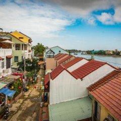 Отель Minh An Riverside Villa бассейн