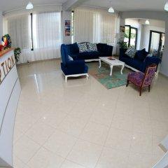 Отель ALER Holiday Inn Албания, Саранда - отзывы, цены и фото номеров - забронировать отель ALER Holiday Inn онлайн интерьер отеля