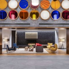 Отель Hyatt Regency Bloomington-Minneapolis Блумингтон гостиничный бар