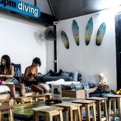 Отель Dpm Diving Hostel & Bar Koh Tao Таиланд, Мэй-Хаад-Бэй - отзывы, цены и фото номеров - забронировать отель Dpm Diving Hostel & Bar Koh Tao онлайн питание