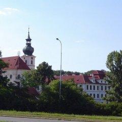 Отель U Sládků Чехия, Прага - отзывы, цены и фото номеров - забронировать отель U Sládků онлайн приотельная территория фото 2