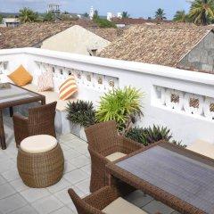 Отель Maison De Raux Hotel Шри-Ланка, Галле - отзывы, цены и фото номеров - забронировать отель Maison De Raux Hotel онлайн балкон