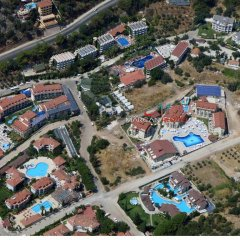 Marcan Resort Hotel пляж