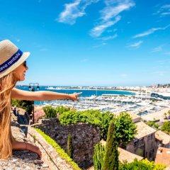 Отель Residence Michel Ange Франция, Канны - отзывы, цены и фото номеров - забронировать отель Residence Michel Ange онлайн пляж