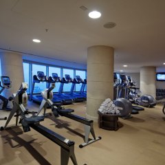 Отель Hilton Baku Азербайджан, Баку - 13 отзывов об отеле, цены и фото номеров - забронировать отель Hilton Baku онлайн фитнесс-зал фото 2