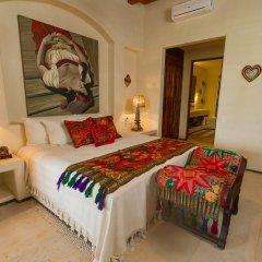Отель Las Palmas Resort & Beach Club Мексика, Коакоюл - отзывы, цены и фото номеров - забронировать отель Las Palmas Resort & Beach Club онлайн комната для гостей фото 4