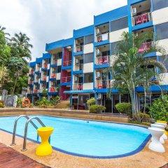 Porterhouse Beach Hotel Patong бассейн