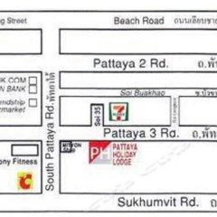 Отель Pattaya Holiday Lodge Паттайя городской автобус