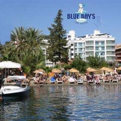 Blue Bay Platinum Hotel Мармарис приотельная территория
