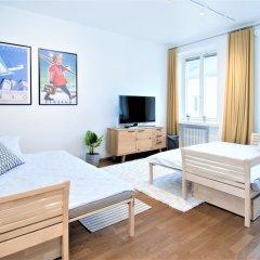 Отель Aurora Apartments Eerikinkatu 12 Финляндия, Хельсинки - отзывы, цены и фото номеров - забронировать отель Aurora Apartments Eerikinkatu 12 онлайн комната для гостей фото 2