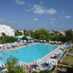 Отель Abir Тунис, Мидун - отзывы, цены и фото номеров - забронировать отель Abir онлайн бассейн фото 3