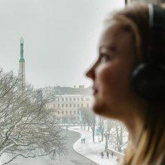 Отель Liberty Mansard Латвия, Рига - отзывы, цены и фото номеров - забронировать отель Liberty Mansard онлайн фитнесс-зал фото 4