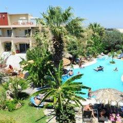 Отель Kallithea Mare бассейн