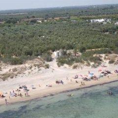 Отель Happy Camp Torre Rinalda Camping Village Лечче пляж фото 2
