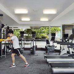 Отель Sathorn Vista, Bangkok - Marriott Executive Apartments Таиланд, Бангкок - отзывы, цены и фото номеров - забронировать отель Sathorn Vista, Bangkok - Marriott Executive Apartments онлайн фитнесс-зал фото 4