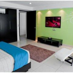 Апартаменты Apartment for 5 people in Acapulco Tradicional комната для гостей фото 3