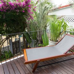 Отель Chay Villas An Bang Хойан балкон