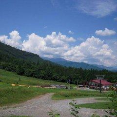 Hotel Schon Wald Хакуба приотельная территория