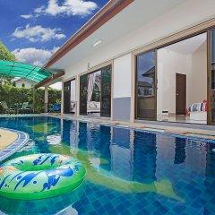 Отель Thammachat P1 Alese Pool Villa бассейн
