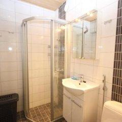 Апартаменты Gella Serviced Apartment Pitäjänmäki ванная