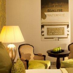 Hotel Le Petit Paris Париж интерьер отеля фото 2