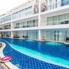 Отель Karon Sunset Sea View бассейн фото 3