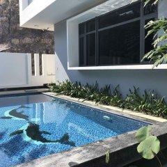Отель Ngoc Long Villa Nha Trang Ocean View Вьетнам, Нячанг - отзывы, цены и фото номеров - забронировать отель Ngoc Long Villa Nha Trang Ocean View онлайн бассейн фото 2